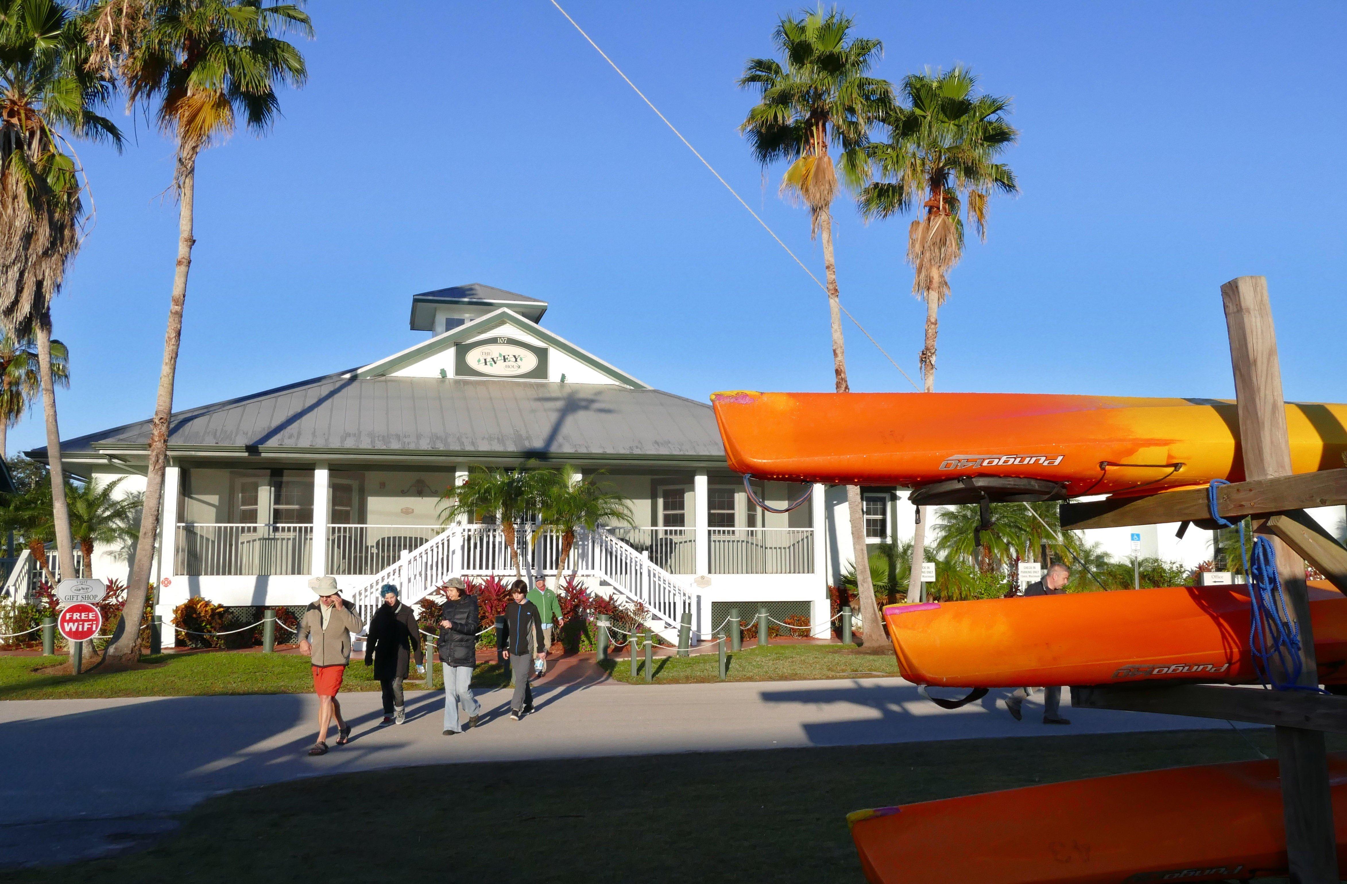 Personas en Everglades City, Florida
