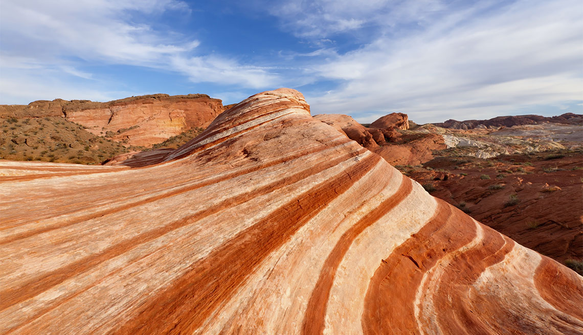 item 3 of Gallery image - Beautifully striped sandstone rock formation, Valley of Fire State Park