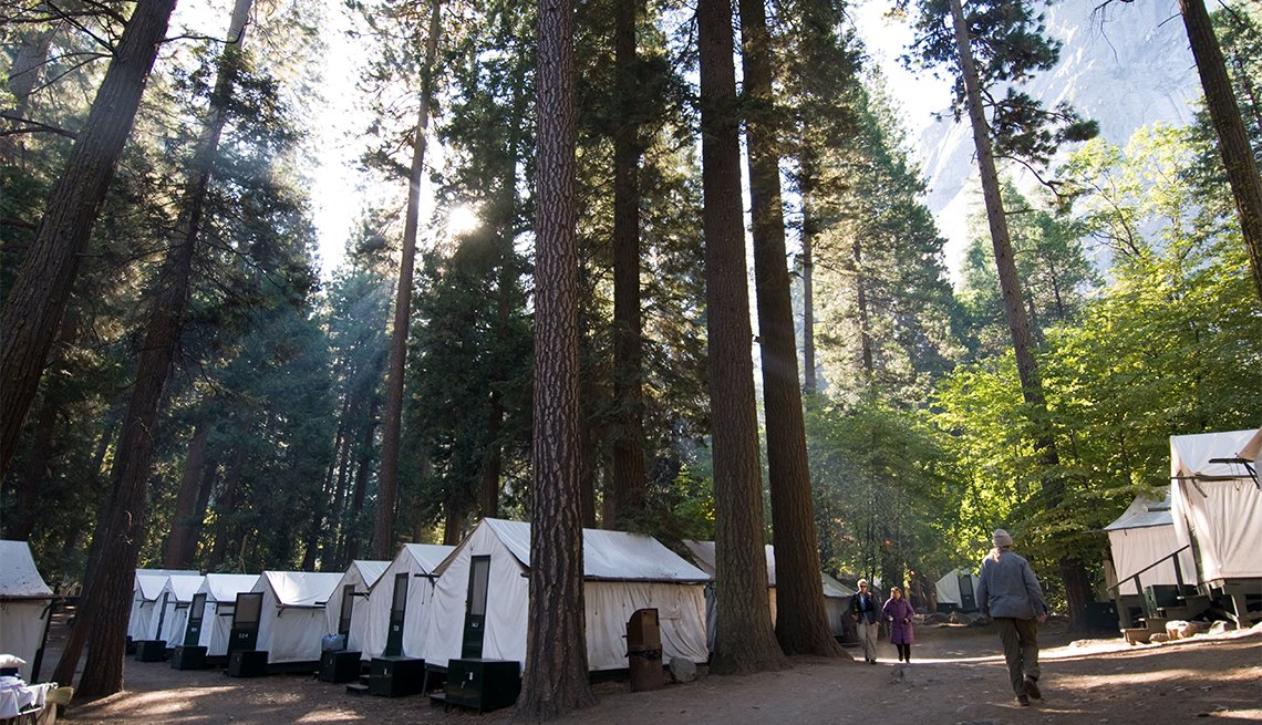 item 3 of Gallery image - Curry Village in Yosemite National Park, California.