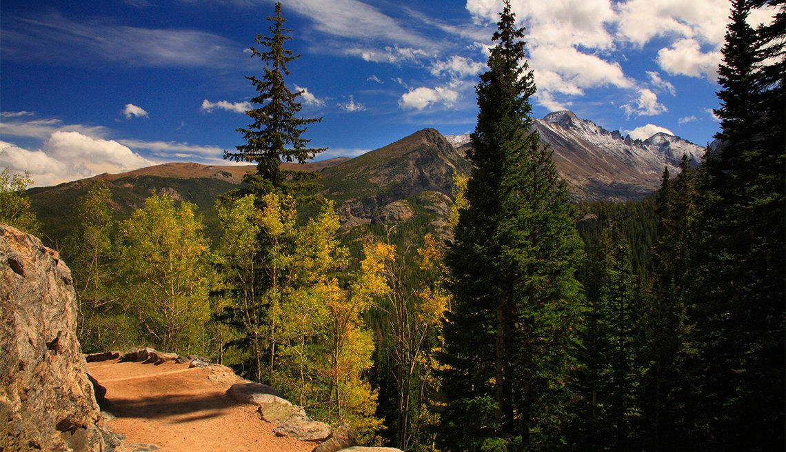 Longs Peak and Dream Lake Trail, Rocky Mountain National Park