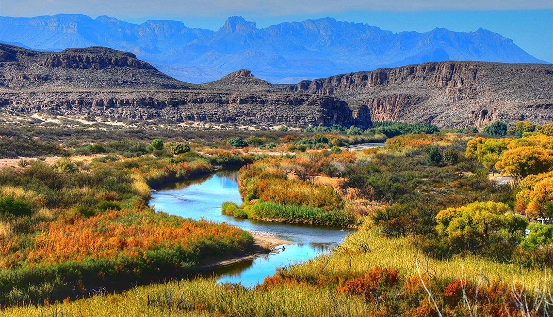 Landscape at Big Bend National Park