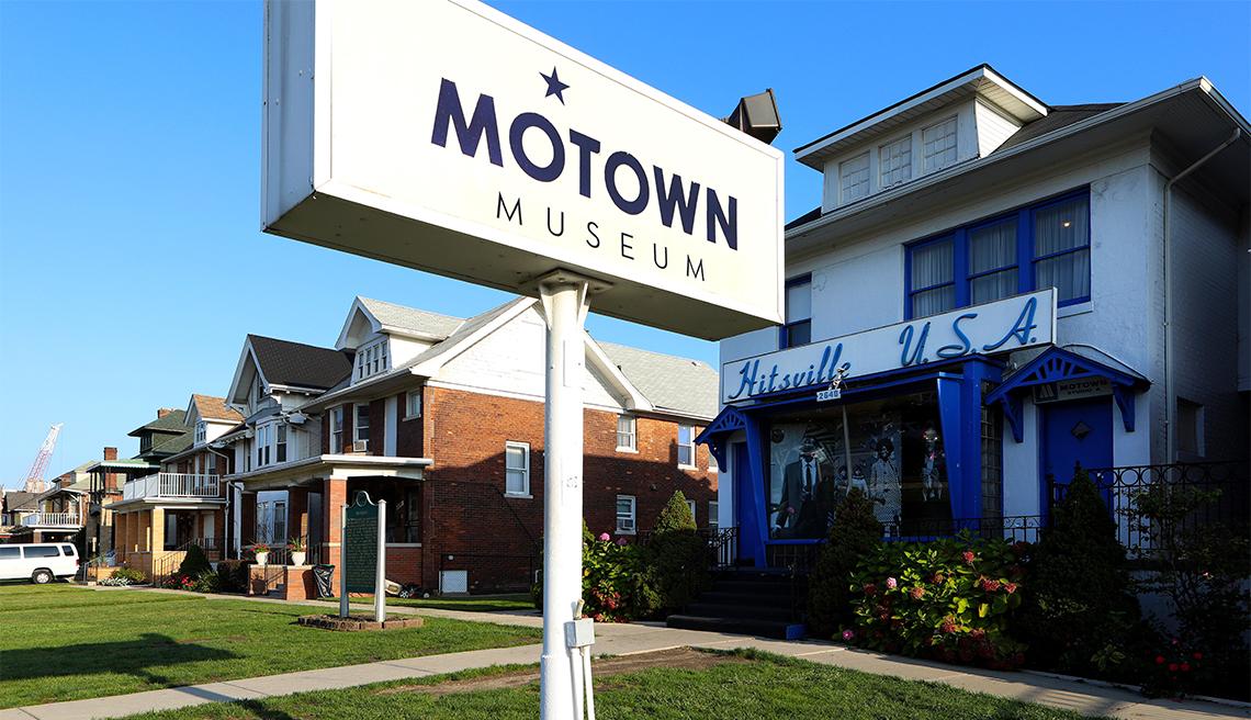 Museo Motown en lo que fuera la sede de Hitsville U.S.A.