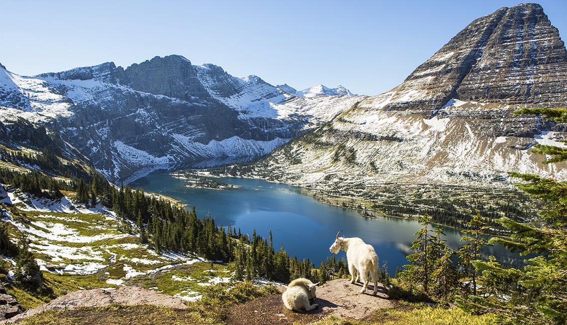 Panorámica del Glacier National Park