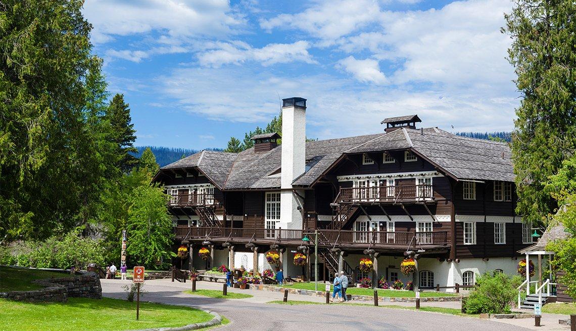 Lake McDonald Lodge, Lake McDonald, Glacier National Park
