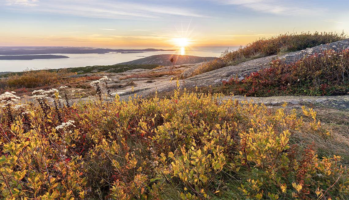 item 2 of Gallery image - sunrise along Cadillac Mountain