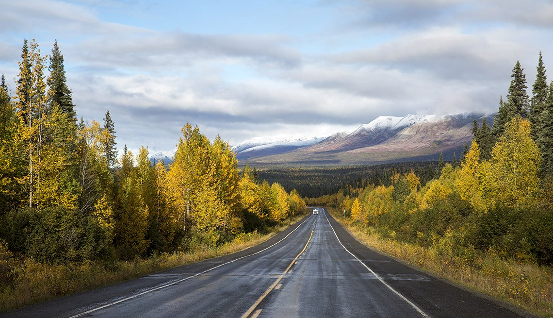 Autopista George Parks en Alaska