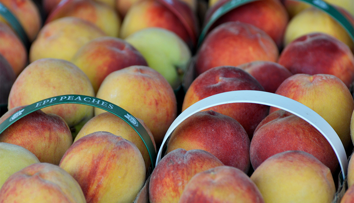 item 10 of Gallery image - locally grown peaches
