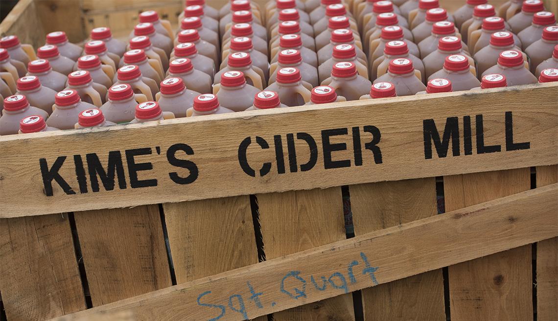 item 4 of Gallery image - bottles of apple cider