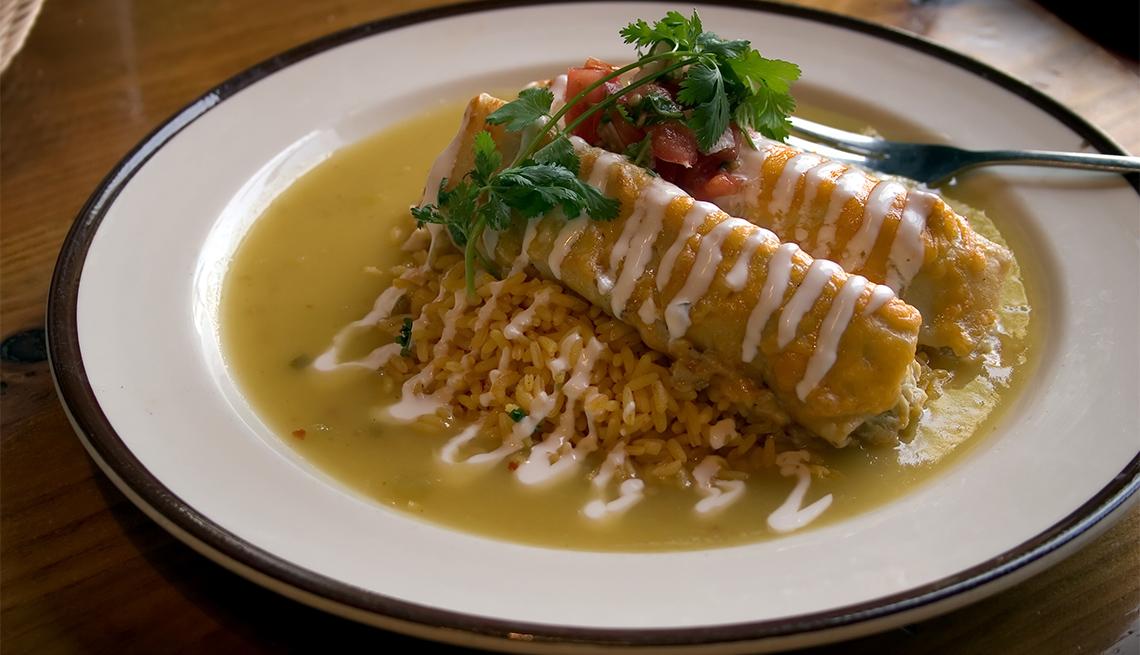 item 7 of Gallery image - Enchiladas verdes