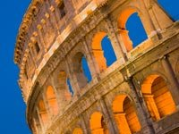 The Colosseum at night, Rome, Italy, Ten Must-Do Overseas Trips