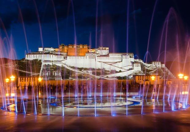 Palacio Potala en Lhasa, Tibet - Los mejores castillos del mundo