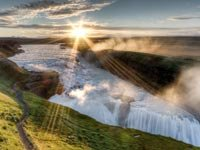 Gullfoss, Islandia - Las 10  cascadas más hermosas del mundo,Gullfoss Waterfall, Iceland, Frommers Most Beautiful Waterfalls
