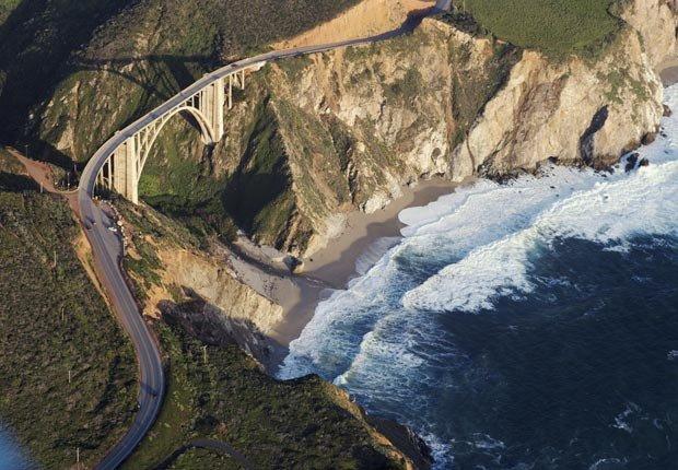 Bixby Creek Bridge, Big Sur, California, Frommers - Los 10 puentes más hermosos del mundo