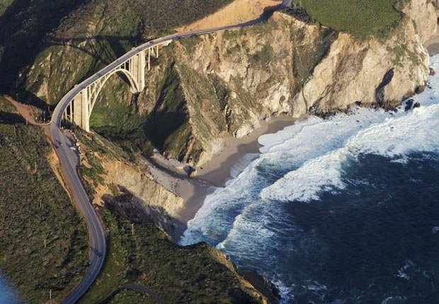 Bixby Creek Bridge, Big Sur, California, Frommers - Los 10 puentes más hermosos del mundo