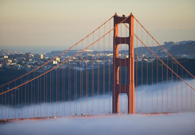 Golden Gate Bridge, San Francisco, California - Los 10 puentes más hermosos del mundo