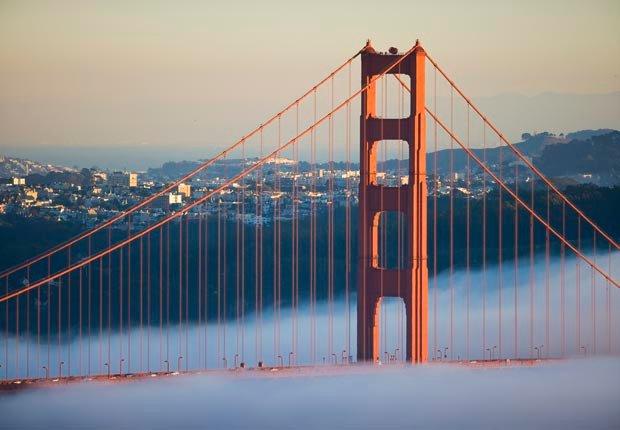 Golden Gate Bridge, San Francisco, California - Los 10 puentes más hermosos del mundo