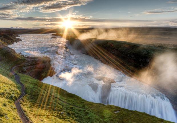 Gullfoss, Islandia - Las 10  cascadas más hermosas del mundo