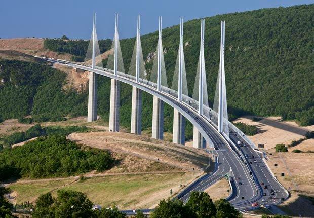Millau Viaduct, Millau, Francia, Frommers  - Los 10 puentes más hermosos del mundo