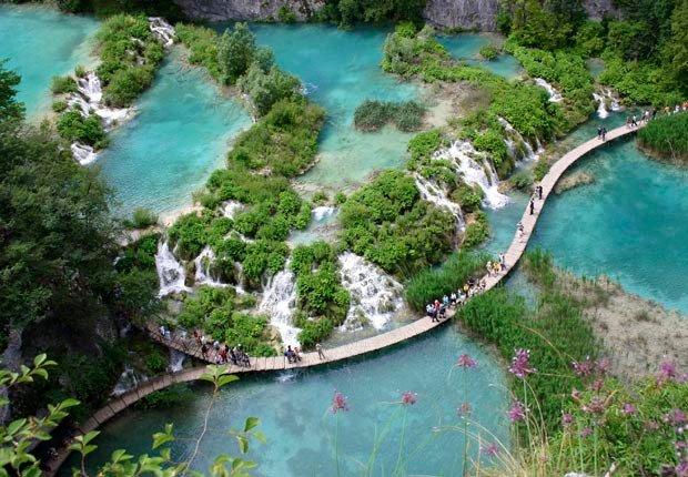 Cascadas Plitvice, Croacia - Las 10  cascadas más hermosas del mundo