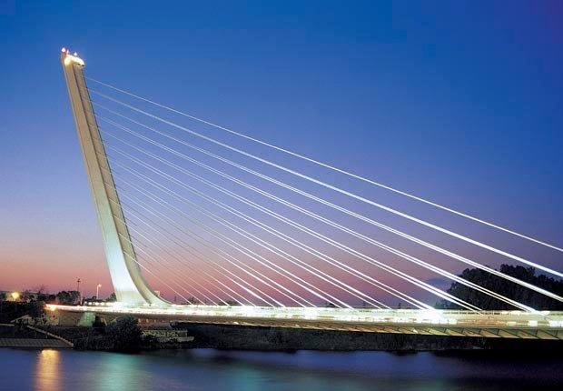 Puente del Alamillo, Sevilla, España, Frommers - Los 10 puentes más hermosos del mundo