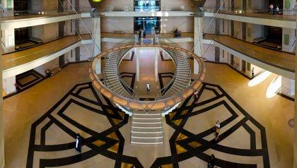 Museo de Arte Islámico de Doha, Qatar, Escaleras increíbles en el mundo