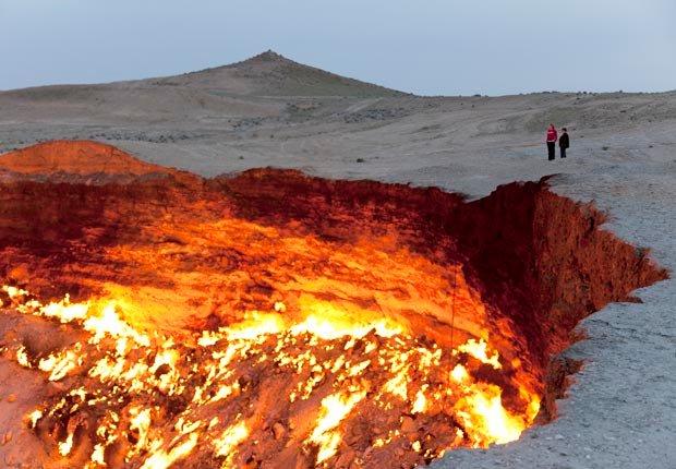 Derweze, Turkmenistan - 10 Lugares únicos para ver en el extranjero