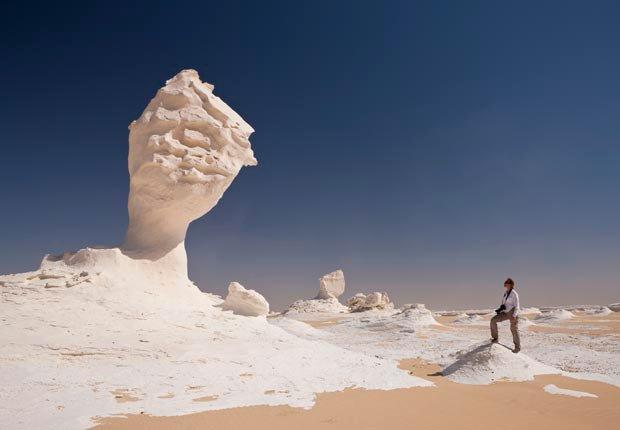 Desierto blanco, Egipto - 10 Lugares únicos para ver en el extranjero