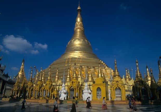 El Dragón de Oro en Yangon, Myanmar - 10 ideas de moda para sus vacaciones