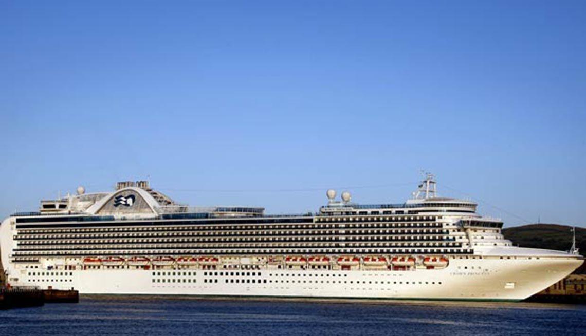 El crucero Crown Princess, 10 hechos inusuales sobre el Canal de,El crucero Crown Princess, 10 hechos inusuales sobre el Canal de