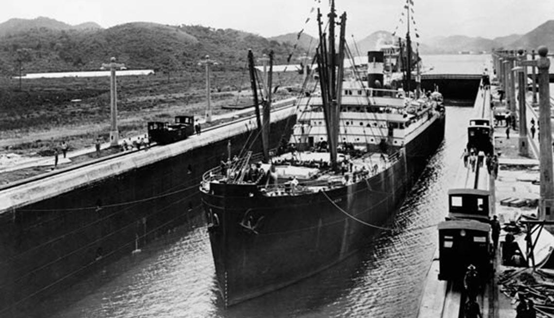 10 hechos inusuales sobre el Canal de Panamá,10 hechos inusuales sobre el Canal de Panamá