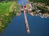 Vista aérea del Canal de Panamá, 10 hechos inusuales sobre el Canal de Panamá