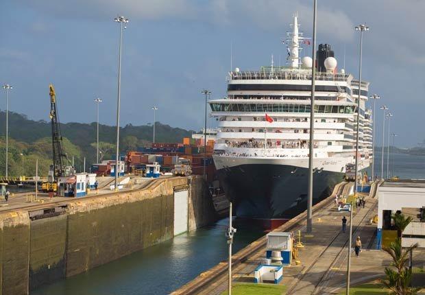 Crucero llega a canal, 10 hechos inusuales sobre el Canal de Panamá