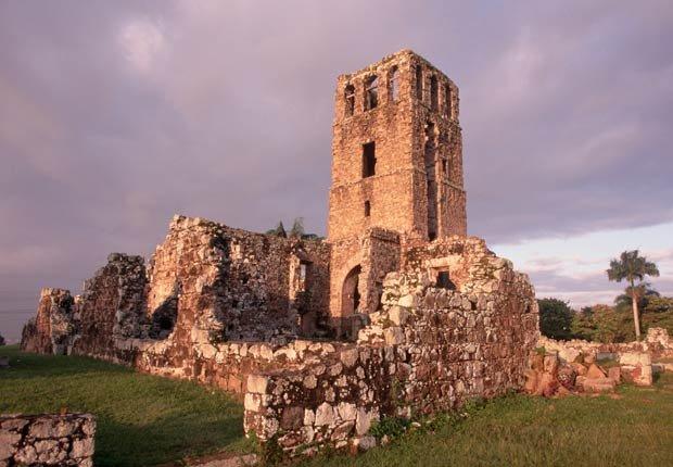 La ruinas de Panamá viejo, 10 lugares para visitar en Panamá