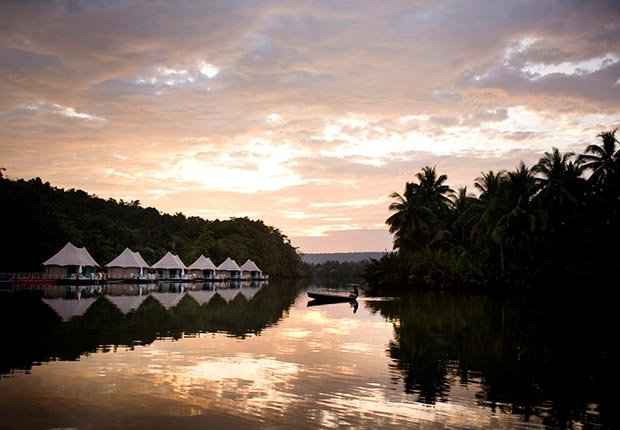 4 Rivers Floating Lodge, Koh Kong, Cambodia - 7 sitios para acampar con clase