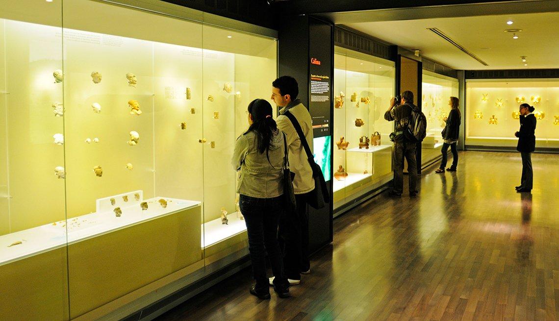 Museo del oro, Bogotá, Colombia - De viaje por los países más felices de América Latina