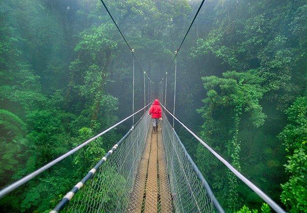 Bosque Monteverde, Costa Rica - De viaje por los países más felices de América Latina