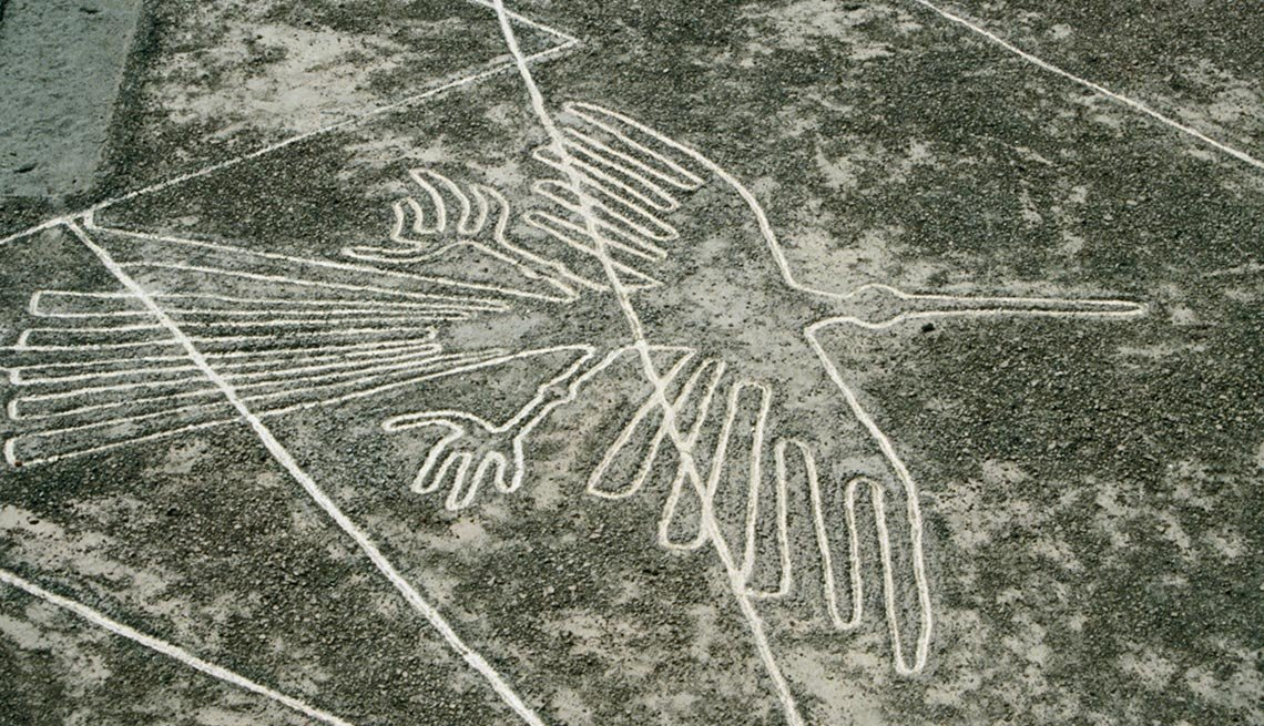 Nazca Lines (The Condor) , Captivating Peru: Inca Trails, Beaches and Gastronomy