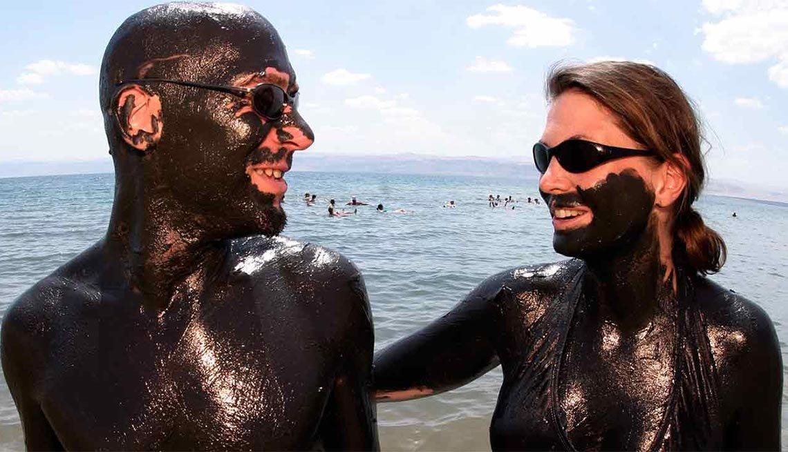 Mar Muerto, Israel y Jordania