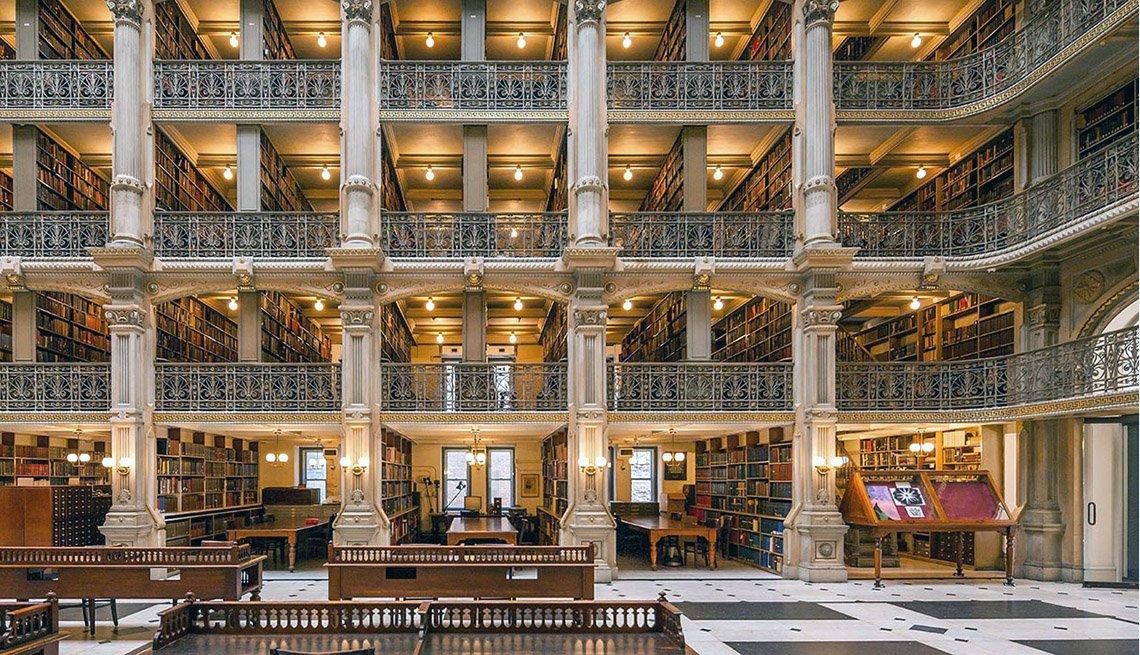 Bibliotecas impresionantes en el mundo