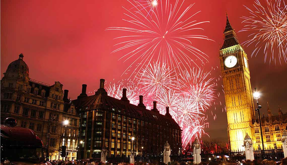 Lugares en donde recibir el Año Nuevo