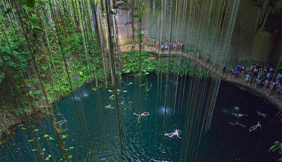 Cenotes de Yucatán, México