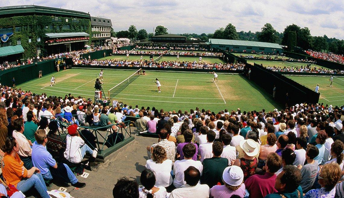 El Reino Unido, más económico que nunca - Cancha de tenis
