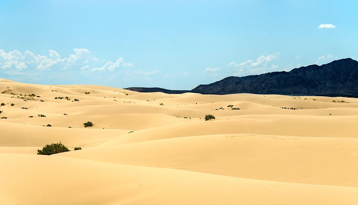 Desiertos y dunas en Latinoamérica - Salamayuca, México