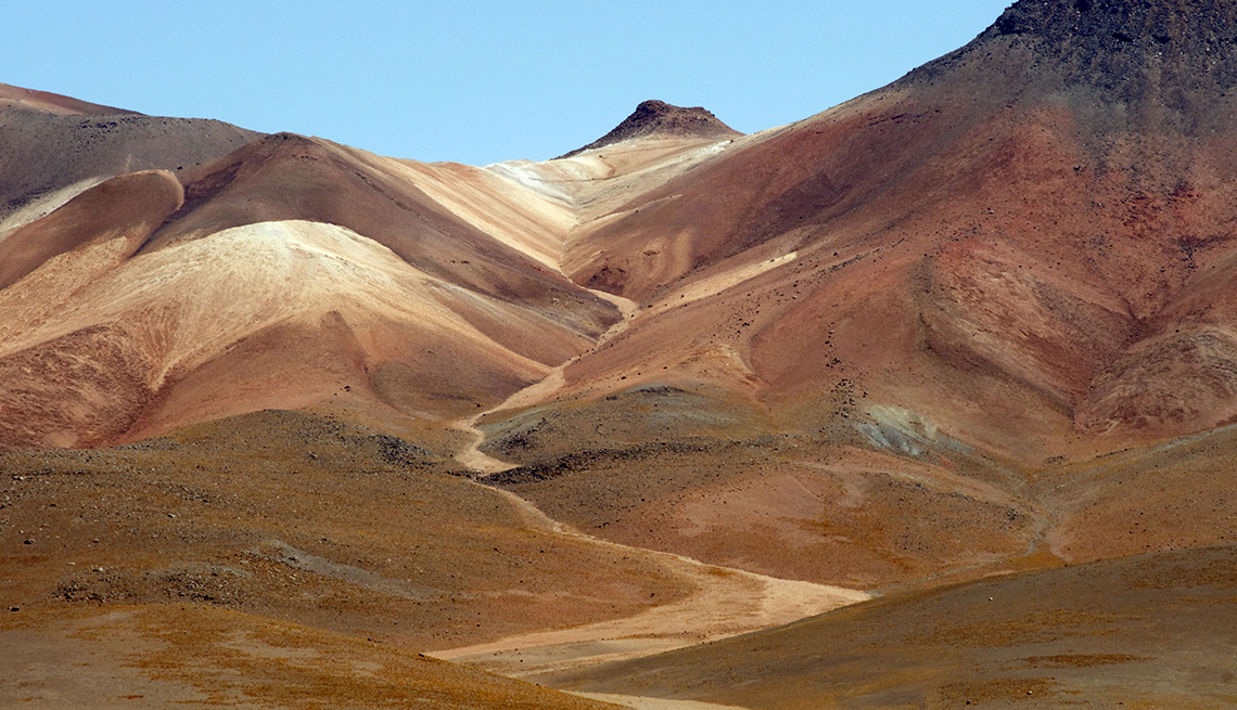 Desiertos y dunas en Latinoamérica - Siloli Bolivia