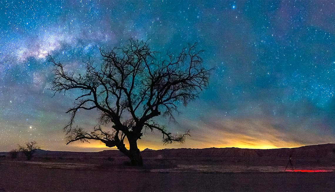 Night sky in Atacama desert in Chile, Inspiring Latin American Trips