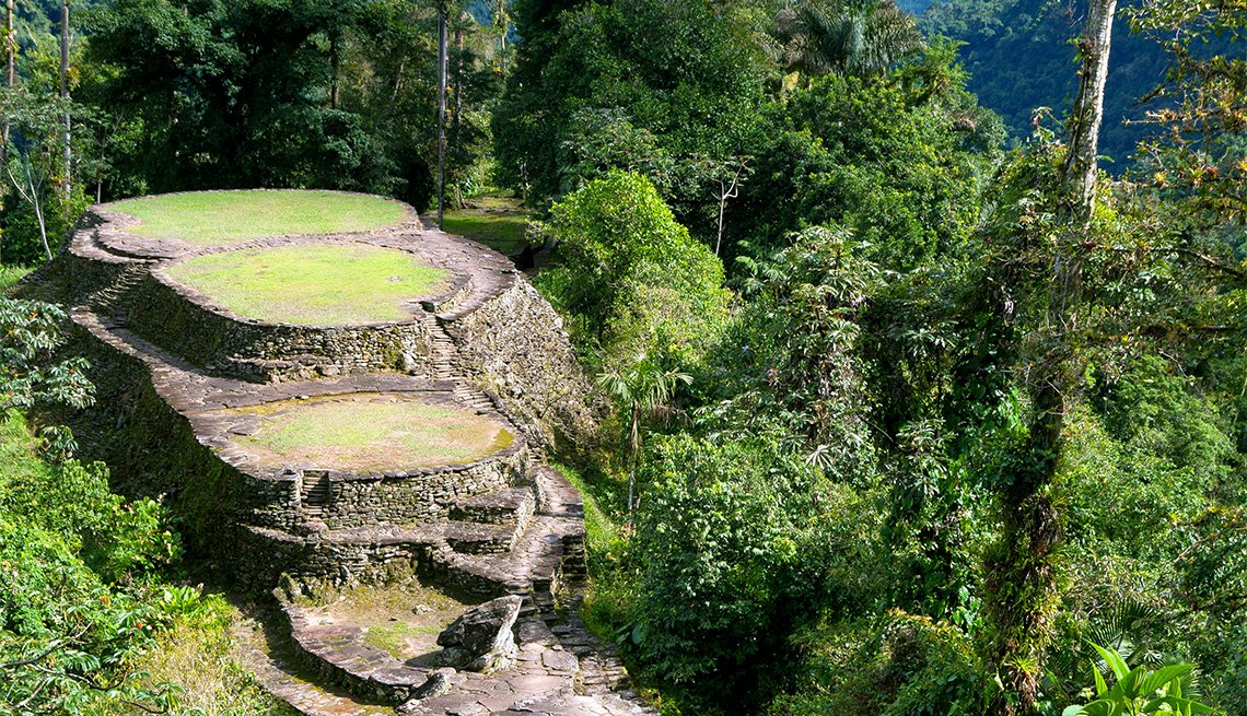 The Lost City in Sierra Nevada de Santa Marta National Park in Colombia, Inspiring Latin American Trips
