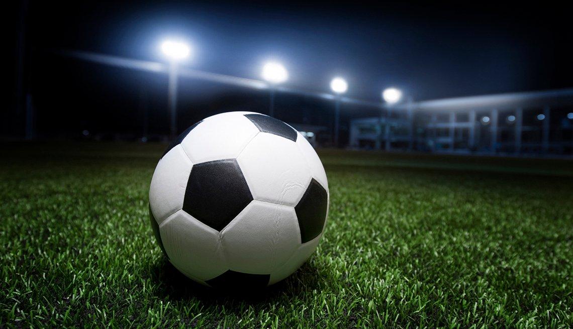 Soccer Ball Grass, Stadium Lights Night, World's Best Soccer Stadiums