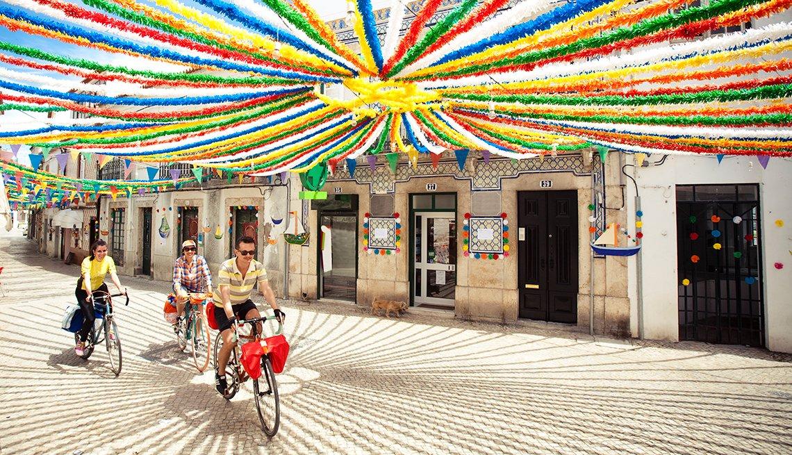 Cyclists in Alentejo, Portugal, Top International Destinations