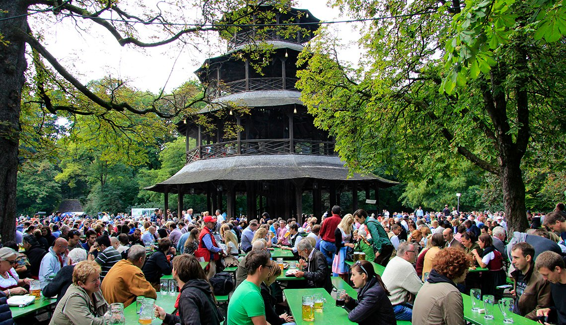 Chinese Tower, Munich, Germany, Affordable Europe: 8 Iconic Cities Not to Be Missed