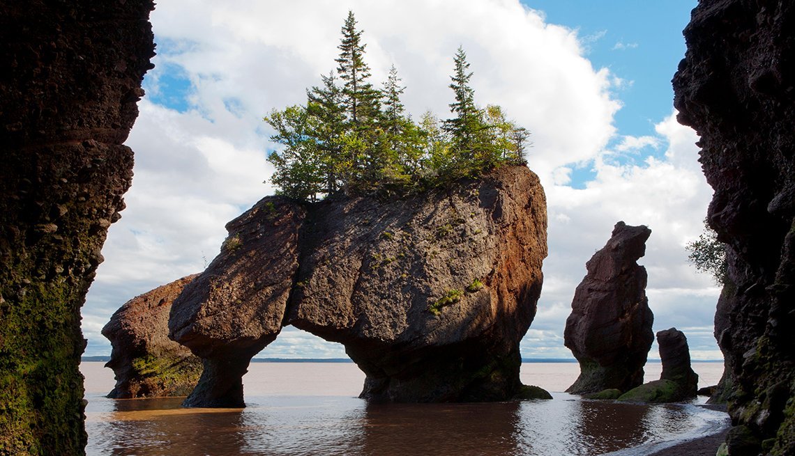 The Rocks Provincial Park in Hopewell Cape, New Brunswick, Canada,  International Bucket List Destinations